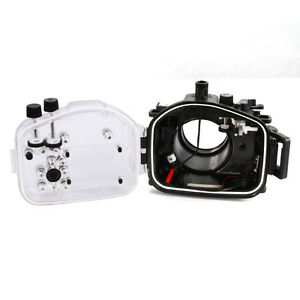 40m Waterproof Underwater Dving Housing Case f Sony A7II A7RII A7R2 28-70mm Lens