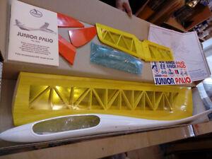 "ARF GLIDER JUNIOR PALIO Italian brand made in Czechoslovakia 89"" WINGSPAN"