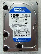 Festplatte 500 GB 3.5 WD Blue Caviar WD5000AAKB-00H8A0 IDE PATA nur ~300 Stunden