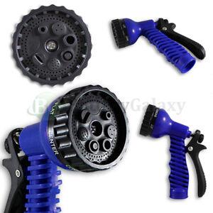 Garden Lawn Hose Nozzle Head Water Sprayer Blue - 7 SPRAY PATTERNS! 1,300+SOLD