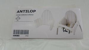CLEAR IKEA ANTILOP Cushion  Highchair rubber INNER only 304 497 48 UK-ZM