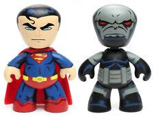 "DC Universe SUPERMAN & DARKSEID 2"" Mini Figure Mez-itz Mezco 2011"