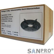 Stelzlager / Plattenlager für Terrassenplatten - höhenverstellbar mit Scheiben