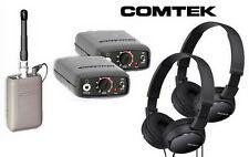 Comtek Beltpack IFB System Bundle: M-216 Opt P7, (2) PR-216, (2) Sony Headphones