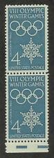 US 1146 @ (1960) EFO: Guttersnipe w/EE dash (8 Winter Olympic Games)