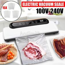 Household Food Vacuum Sealer Package Machine Electric Film Sealer Vacuum+15  F F
