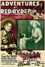 Adventures of Red Ryder 1940 Republic serial on 2 DVDs in case w/art