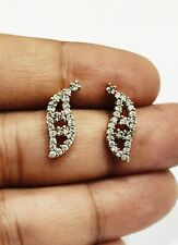 0.50ct Diamond 14k yellow gold over Push back nice Earring Daily Wear For Her