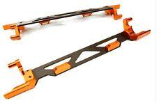 Integy Machined Alloy Battery Hold Down Plate Traxxas 1/5 X-MAXX 4x4 Orange
