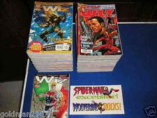 WIZ Marvel  1995  dal 1 a 84  Serie Completa di adesivi poster ottimi