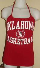 Womens Oklahoma Sooners Reconstructed Basketball Shirt Tank Halter Top DiY