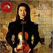 Concerto for Violin, Mendelssohn, Takezawa, Flor, Bam, Very Good Import