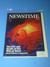 Newstime May 1993 The Life and Death of Superman