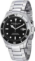 Stuhrling Regatta Elite Men's 42mm  Quartz Date Divers Watch 326B.331113