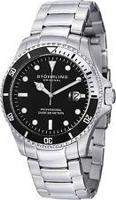 Stuhrling Regatta Elite Men's 42mm  Quartz Date Divers Watch 326B.331113