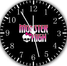 Monster High Frameless Borderless Wall Clock Nice For Gifts or Decor X69