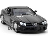 MOTORMAX 1:24 2011 MERCEDES BENZ SLR MCLAREN DIECAST MODEL CAR BLACK