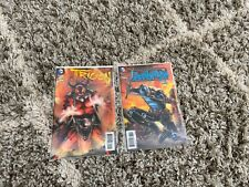 Vol 4, Teen Titan #23.1 (Trigon) & 23.2 (Deathstroke) - 3D Covers. VGC. 9/2013