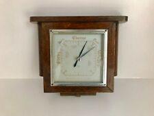 Hermoso Antiguo Art Deco De Madera barómetro-Excelente Estado