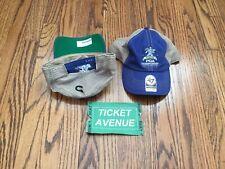 100th PGA Championship Bellerive St Louis Golf Trucker Hat Cap Blue Tiger Woods