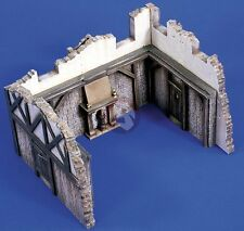 Verlinden 1/35 Old Tavern Ruin (fits kit 1758) (Ceramic Diorama Model kit) 1759