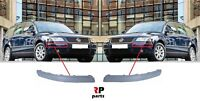 FOR VW PASSAT B5.5 2001 - 2005 NEW FRONT BUMPER PRIMED MOLDING TRIM PAIR SET
