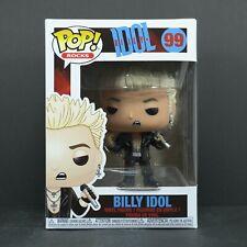 Funko Pop Billy Idol 99 Billy Idol Rocks Vinyl Figure Not Mint