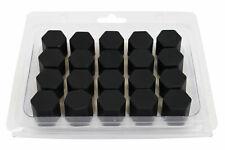 20x Silikon 19 mm Radschrauben Muttern Kappen Bolzenabdeckungen für Audi VW BMW