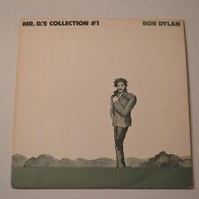 BOB DYLAN - MR. D.'S COLLECTION #1  - 1973 JAPAN LP  PROMO-ONLY COPY