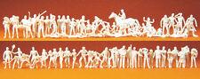 Preiser 16346 Sport et loisirs, 80 figurines non-peintes, H0