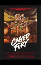 CAGED FURY Movie POSTER 27x40 Bernadette Williams Taaffe O'Connell Jennifer Lane
