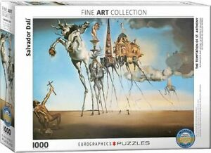 Eurographics Puzzle 1000 Piece  - The Temptation of St. Anthony Salvador Dali