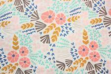 Cloud 9 Fabric, Floral Fabric, Organic Cotton, Wildflowers, Half Metre