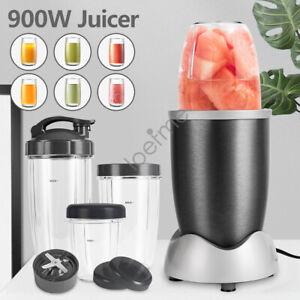 LOEFME 900W Juicer Mixer Extractor Bullet Blender Fruit Vegetable Smoothie Maker