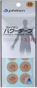 Phiten X30 Titanium Discs (50 Piece) 50 mark Japan