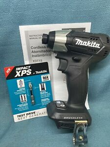 NEW Makita XDT15ZB Brushless Cordless 18V LXT Lithium-Ion Impact Driver, Compact