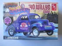 '40 WILLYS Coupe  THREE STOOGES Charly's Gasser   Bausatz  amt  1:25  NEU