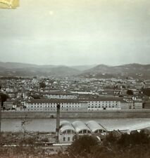 Italy Firenze panorama Old Amateur Stereoview Photo 1900