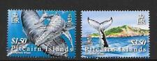 PITCAIRN ISLANDS SG721/2 2006 HUMPBACK WHALES MNH
