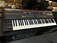Roland Juno106 Juno 106 Vintage Analog Synth Keyboard 61 key/ SERVICED //ARMENS