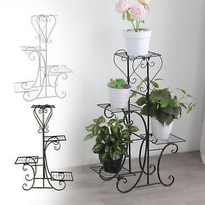 4 Tier Plant Stand Flower Pot Shelf Rack Holder Garden Christmas Home Décor