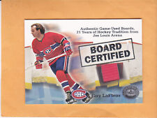 2001 02 GREATS OF THE GAME GUY LAFLEUR BOARD CERTIFIED #NNO MONTREAL CANADIENS