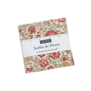 Moda Fabrics Charm Pack - Jardin de Fleurs by French General
