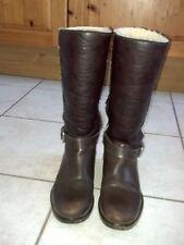 Stiefel Winterschuhe Schuhe von Sansibar in Größe 38 gefüttert in braun