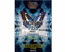 The Butterfly Pass (2 Dvd) by Stephen Leathwaite Magic Trick Card Close Up Fism