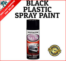 12Oz Spray Paint For Automotive Car Plastic Renews & Restores PVC Gloss Black