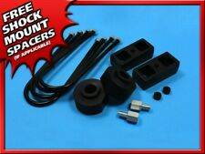 "81-96 Ford F150 2"" Front Black Billet 2"" Rear Steel Lift Kit 3/4"" Stud Extender"