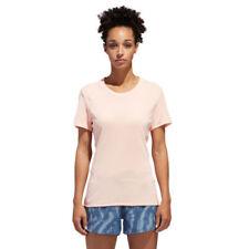 Camisas y tops de mujer rosas adidas