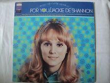 """JACKIE DE SHANNON """"FOR YOU"""" VINYL LP ORIGINAL 1967 IMPERIAL LP-12352, STEREO"""