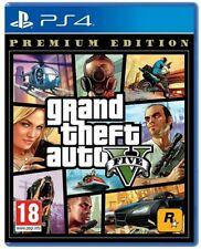 GTA 5 PREMIUM LIMITED EDITION PS4 GRAND THEFT AUTO V PLAYSTATION 4 ITA NUOVO EU